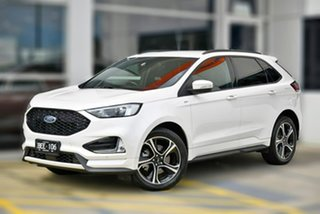 2018 Ford Endura CA 2019MY ST-Line White 8 Speed Sports Automatic Wagon.