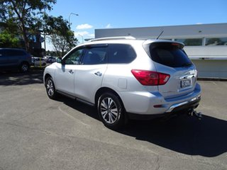 2017 Nissan Pathfinder R52 Series II MY17 ST X-tronic 4WD Brilliant Silver 1 Speed Automatic Wagon.