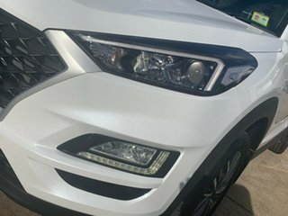 2020 Hyundai Tucson TL4 MY21 Active X 2WD White Pearl 6 Speed Automatic Wagon.