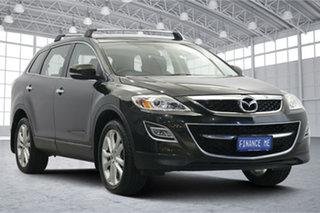 2011 Mazda CX-9 TB10A4 MY11 Luxury Black 6 Speed Sports Automatic Wagon.