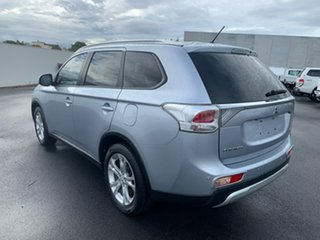 2014 Mitsubishi Outlander ZJ MY14.5 LS 4WD Silver 6 Speed Sports Automatic Wagon