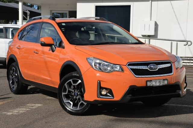 Used Subaru XV G4X MY17 2.0i-S Lineartronic AWD North Gosford, 2017 Subaru XV G4X MY17 2.0i-S Lineartronic AWD Orange 6 Speed Constant Variable Wagon