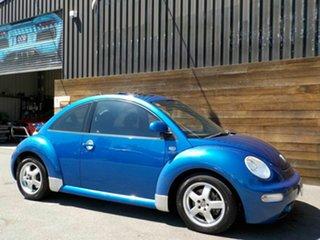 2002 Volkswagen Beetle 9C MY2002.5 Coupe Blue 5 Speed Manual Liftback.