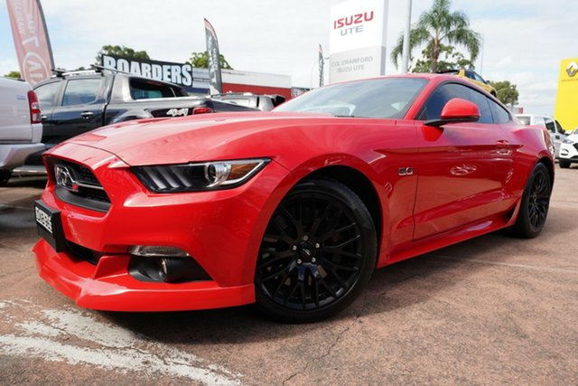 Used Ford Mustang FM MY17 Fastback GT 5.0 V8 Brookvale, 2017 Ford Mustang FM MY17 Fastback GT 5.0 V8 Red 6 Speed Automatic Coupe