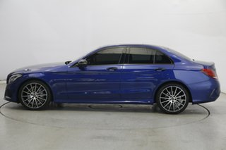 2017 Mercedes-Benz C-Class W205 807+057MY C200 9G-Tronic Blue 9 Speed Sports Automatic Sedan.