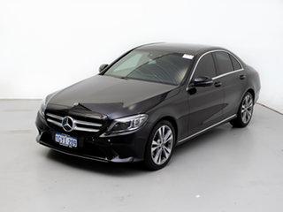 2018 Mercedes-Benz C200 205 MY19 EQ (Hybrid) Black 9 Speed Automatic G-Tronic Sedan