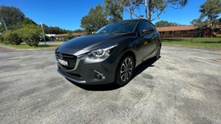2019 Mazda 2 DJ2HAA Genki SKYACTIV-Drive Dark Grey 6 Speed Sports Automatic Hatchback
