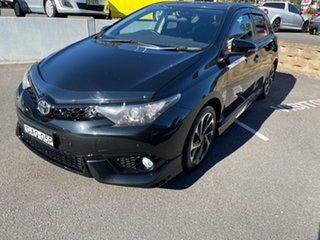 2015 Toyota Corolla ZRE182R Levin SX Black 6 Speed Manual Hatchback.
