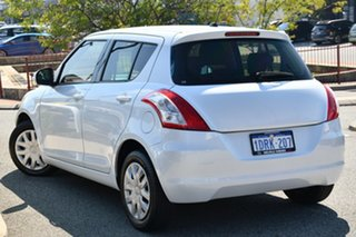 2011 Suzuki Swift FZ GL White 4 Speed Automatic Hatchback.