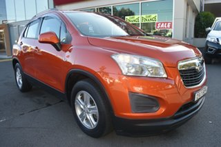 2015 Holden Trax TJ MY15 LS Orange 6 Speed Automatic Wagon