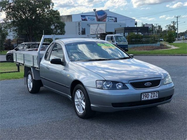 Used Ford Falcon BA XL Archerfield, 2004 Ford Falcon BA XL Grey 4 Speed Automatic Cab Chassis