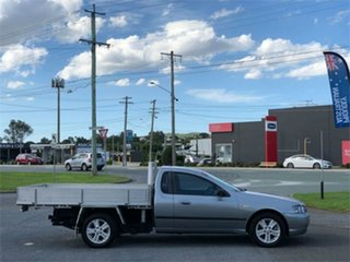 2004 Ford Falcon BA XL Grey 4 Speed Automatic Cab Chassis.
