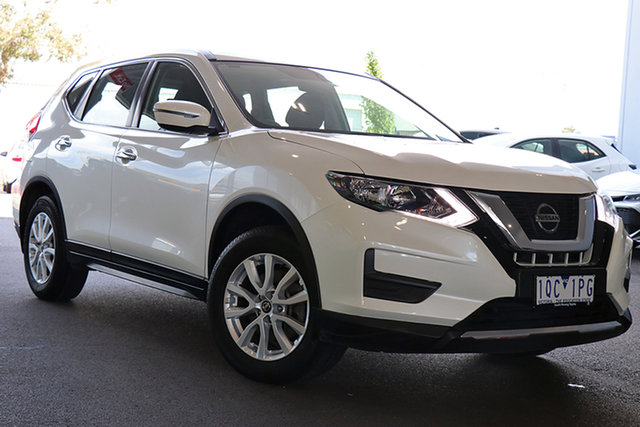 Pre-Owned Nissan X-Trail T32 ST X-tronic 2WD Preston, 2017 Nissan X-Trail T32 ST X-tronic 2WD White 7 Speed Constant Variable Wagon