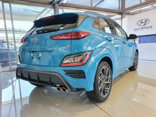 2020 Hyundai Kona Os.v4 MY21 N-Line D-CT AWD Dive in Jeju 7 Speed Sports Automatic Dual Clutch Wagon.