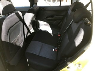 2010 Hyundai Getz TB MY09 SX Yellow 5 Speed Manual Hatchback