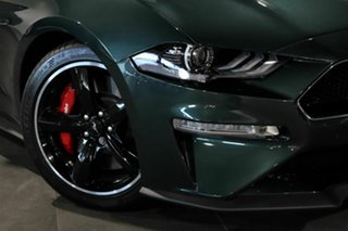 2019 Ford Mustang FN 2019MY BULLITT Green 6 Speed Manual Fastback.