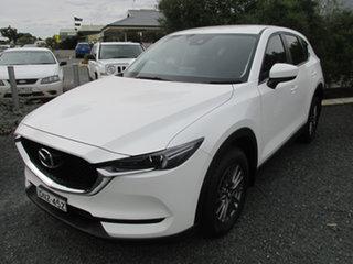 2017 Mazda CX-5 MAXX SPORT White 6 Speed Automatic Wagon.