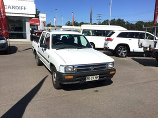 1997 Toyota Hilux RN85R DX 4x2 White 5 Speed Manual Utility.