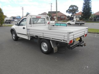 2007 Holden Rodeo RA MY07 LX White 4 Speed Automatic Cab Chassis.