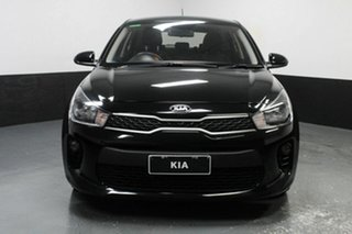 2017 Kia Rio YB MY17 S Black 4 Speed Sports Automatic Hatchback.