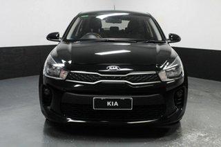 2017 Kia Rio YB MY17 S Black 4 Speed Sports Automatic Hatchback.