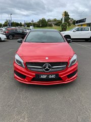 2013 Mercedes-Benz A-Class W176 A250 D-CT Sport Red 7 Speed Sports Automatic Dual Clutch Hatchback.