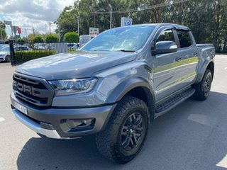 2020 Ford Ranger PX MkIII 2020.75MY Raptor Grey 10 Speed Sports Automatic Double Cab Pick Up.