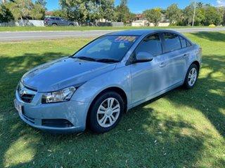 2009 Holden Cruze JG CD Blue 6 Speed Sports Automatic Sedan.