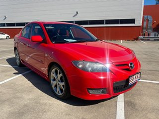 2007 Mazda 3 BK MY06 Upgrade SP23 Red 5 Speed Auto Activematic Sedan.