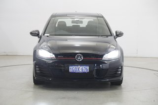 2016 Volkswagen Golf VII MY16 GTI DSG Black 6 Speed Sports Automatic Dual Clutch Hatchback.
