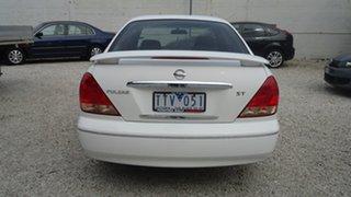 2005 Nissan Pulsar N16 MY2004 ST White 5 Speed Manual Sedan