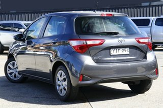 2018 Toyota Yaris NCP130R Ascent Grey 5 Speed Manual Hatchback.