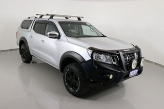 2016 Nissan Navara NP300 D23 RX (4x4) Silver 6 Speed Manual Double Cab Utility