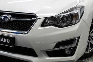 2016 Subaru Impreza G5 MY17 2.0i-L CVT AWD White 7 Speed Constant Variable Hatchback.