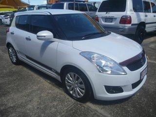2012 Suzuki Swift FZ RE2 White 4 Speed Automatic Hatchback.