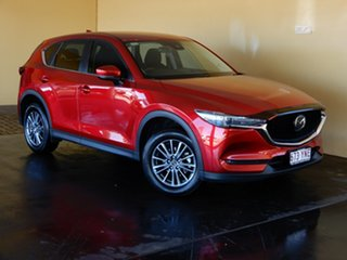2019 Mazda CX-5 MY19 (KF Series 2) Maxx Sport (4x4) Red 6 Speed Automatic Wagon.