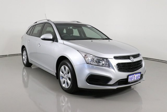 Used Holden Cruze JH MY16 CD Bentley, 2015 Holden Cruze JH MY16 CD Silver 6 Speed Automatic Sportswagon