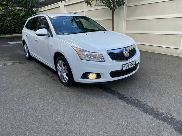 Used Holden Cruze JH Series II MY15 CDX Sportwagon Zetland, 2015 Holden Cruze JH Series II MY15 CDX Sportwagon White 6 Speed Sports Automatic Wagon