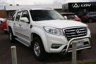 2020 Great Wall Steed NBP 4x2 White 5 Speed Manual Utility.