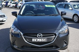 2014 Mazda 2 DJ2HAA Neo SKYACTIV-Drive Black 6 Speed Sports Automatic Hatchback.