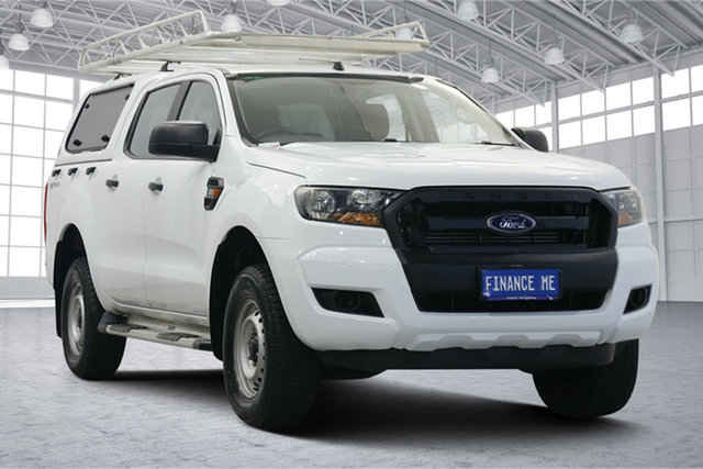 Used Ford Ranger PX MkII XL Hi-Rider Victoria Park, 2017 Ford Ranger PX MkII XL Hi-Rider White 6 Speed Sports Automatic Utility