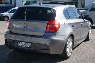 2010 BMW 1 Series E87 MY10 118d Steptronic Grey 6 Speed Sports Automatic Hatchback