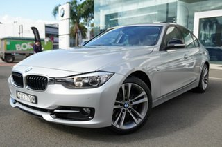 2014 BMW 328i F30 MY14 Upgrade Sport Line Glacier Silver 8 Speed Automatic Sedan