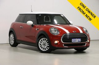 2015 Mini Cooper F56 Red 6 Speed Manual Hatchback.