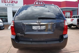 2013 Kia Grand Carnival VQ MY13 SLi Grey 6 Speed Automatic Wagon