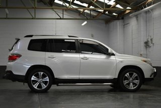 2013 Toyota Kluger GSU45R MY12 KX-S AWD White 5 Speed Sports Automatic Wagon