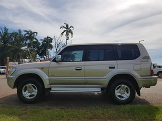 2002 Toyota Landcruiser Prado VZJ95R Grande Gold 4 Speed Automatic Wagon