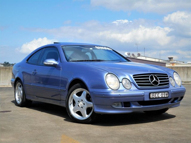 Used Mercedes-Benz CLK-Class C208 CLK320 Avantgarde Brookvale, 2001 Mercedes-Benz CLK-Class C208 CLK320 Avantgarde Blue 5 Speed Automatic Coupe