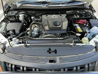 2018 Mitsubishi Triton MQ GLX White 6 Speed Manual Dual Cab