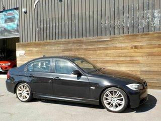2006 BMW 3 Series E90 320d Steptronic Executive Black 6 Speed Sports Automatic Sedan.